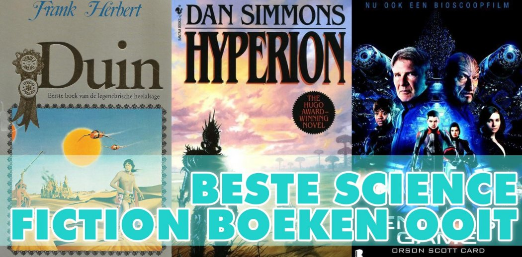 De beste science fiction boeken ooit